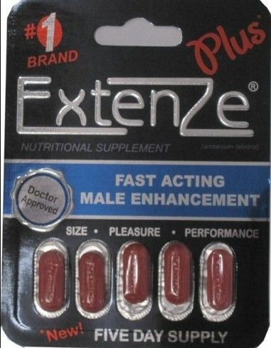 Extenze Dietary Supplement Extended Release