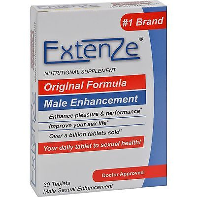 Biotab Nutraceuticals Extenze Male Enhancement Pill Review