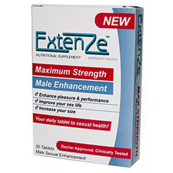 Extenze New Black Pill