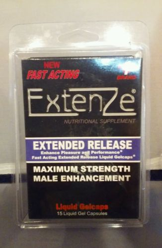 Extenze Ingredients Label