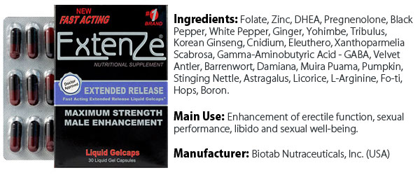 Extenze Male Enhancement Formula Review