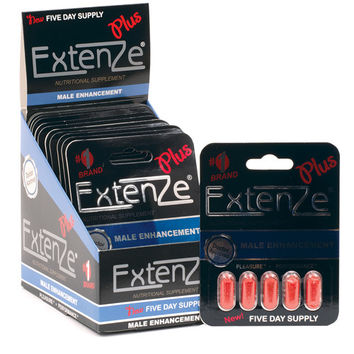 Extenze Product Label